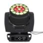19颗15W RGBW 大蜂眼调焦摇头灯染色灯