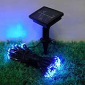 LED太阳能灯串户外装饰灯蝴蝶 蜻蜓花园公园装饰彩灯串